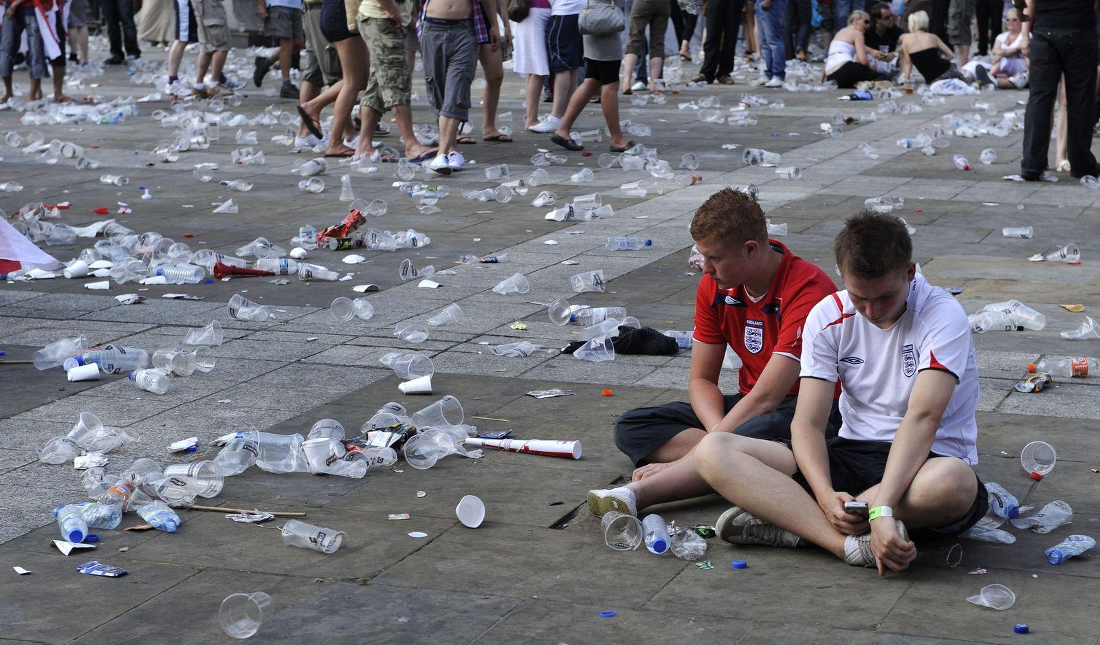 WM 2010 - Fans / Deutschland vs England