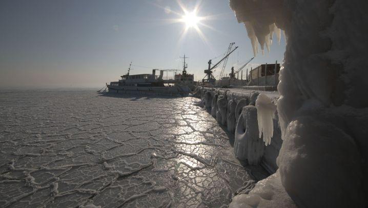 Winter 2012: Kälte trifft Osteuropa besonders hart