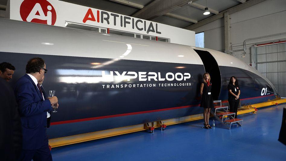 Hyperloop-Kapsel