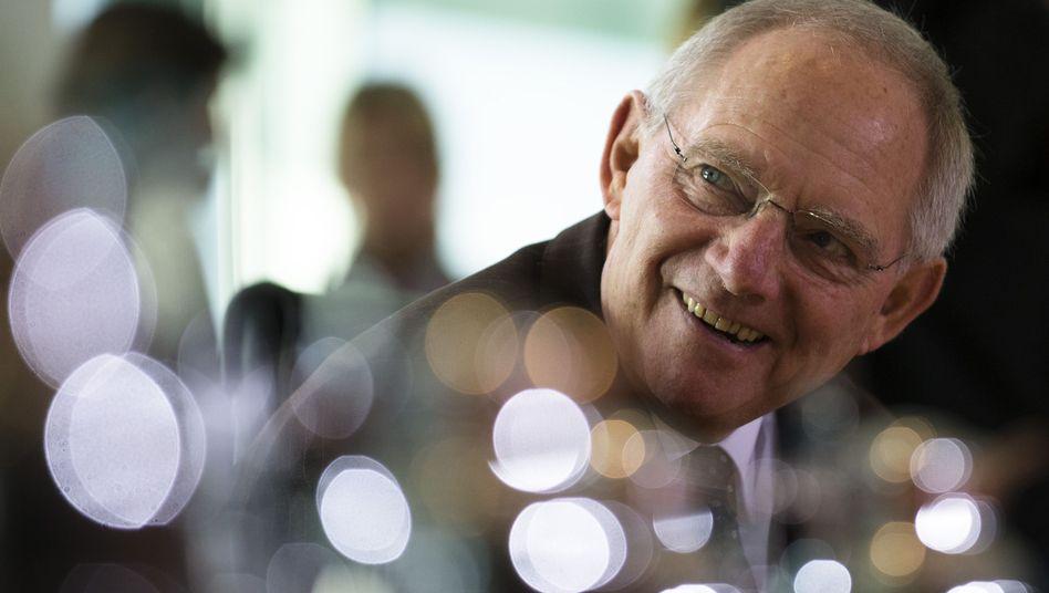Finanzminister Schäuble: Der Bund macht noch immer ein Defizit