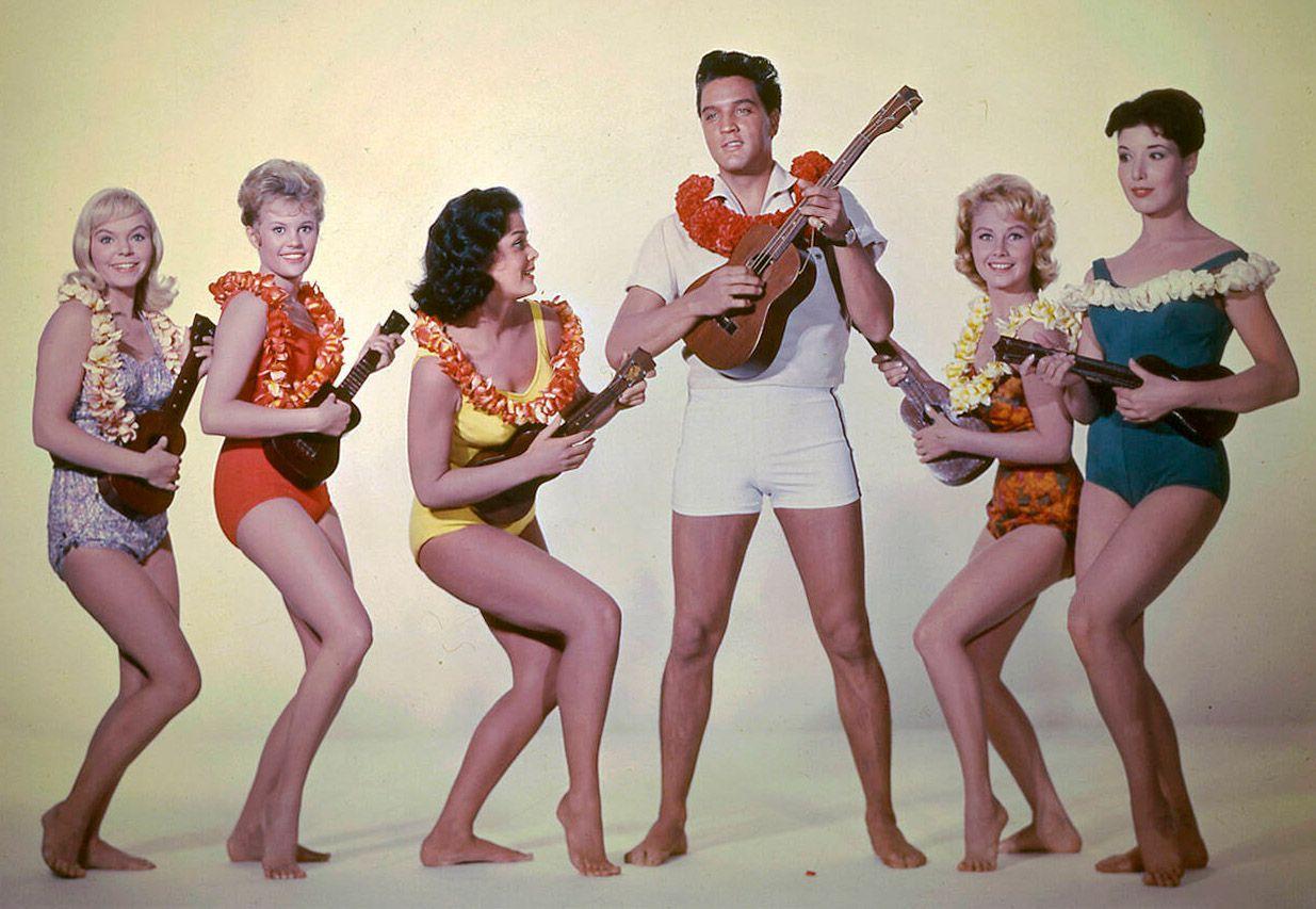 Paradis hawa?Øen Paradise, Hawaiian Style 1966 real Michael Moore Elvis Presley COLLECTION CHRISTOPHEL DR / MGM PUBLICAT
