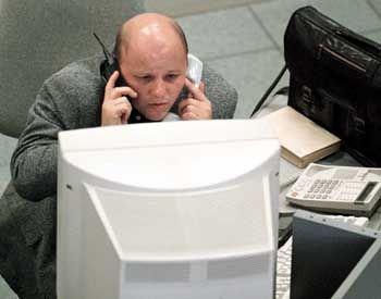 Börsianer in Moskau: Oligarchen-Hatz verschreckt Anleger