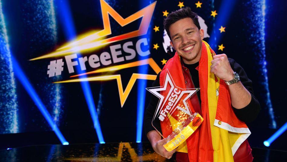 """Sänger Santos nach seinem """"#FreeESC""""-Sieg: """"Erlebnis abgespeichert"""""""
