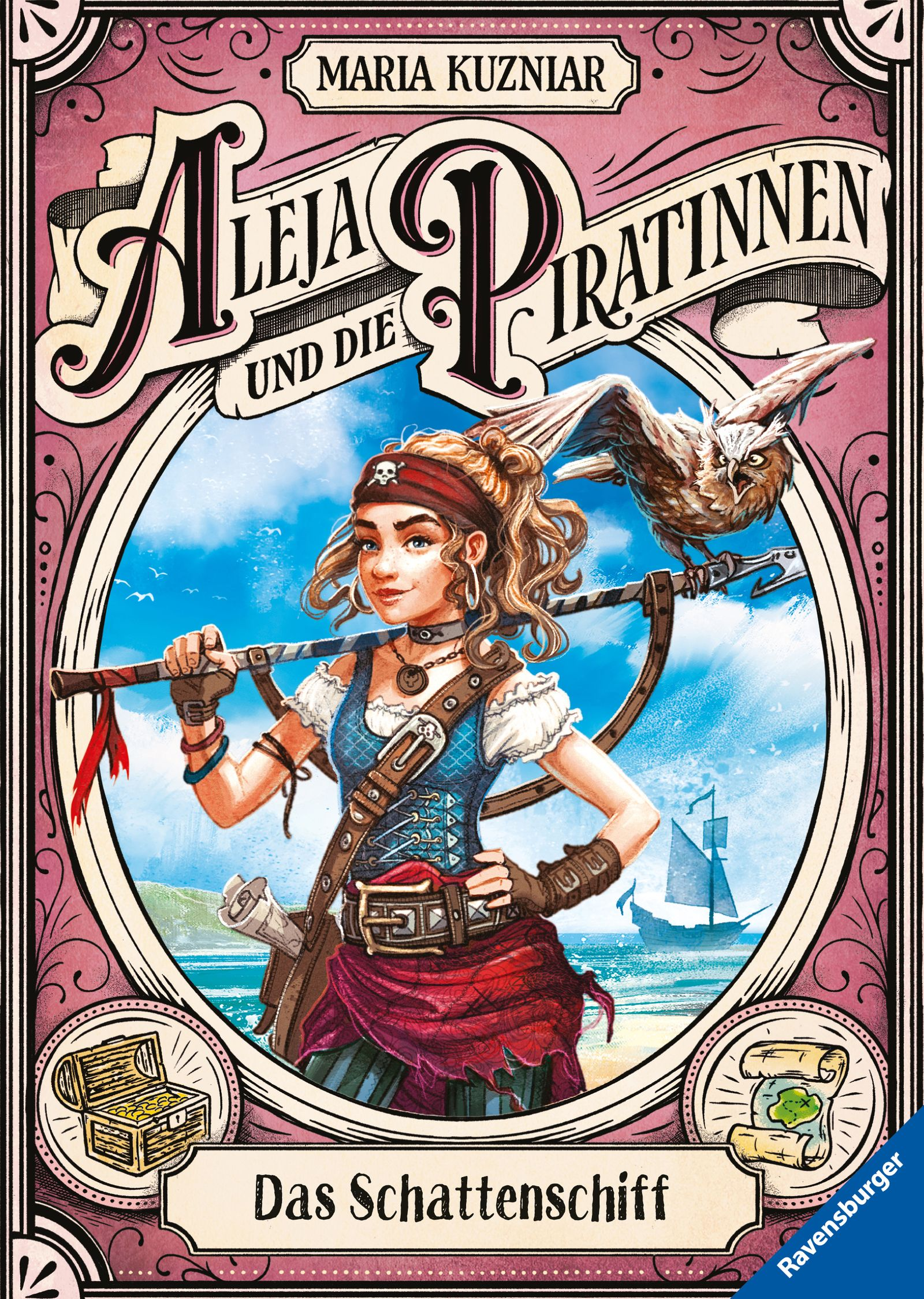 40845_Maria Kuzinar_Aleja und die Piratinnen_ Das Schattenschiff