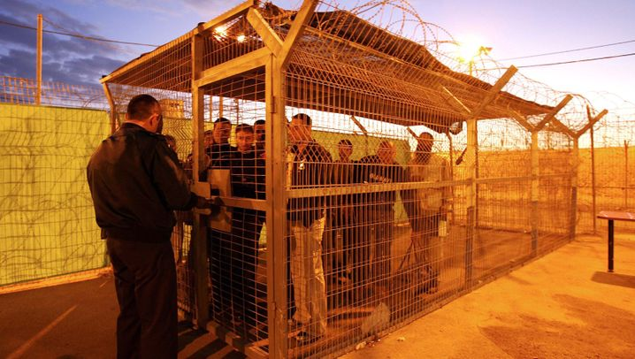 Photo Gallery: Imprisoned in Israel