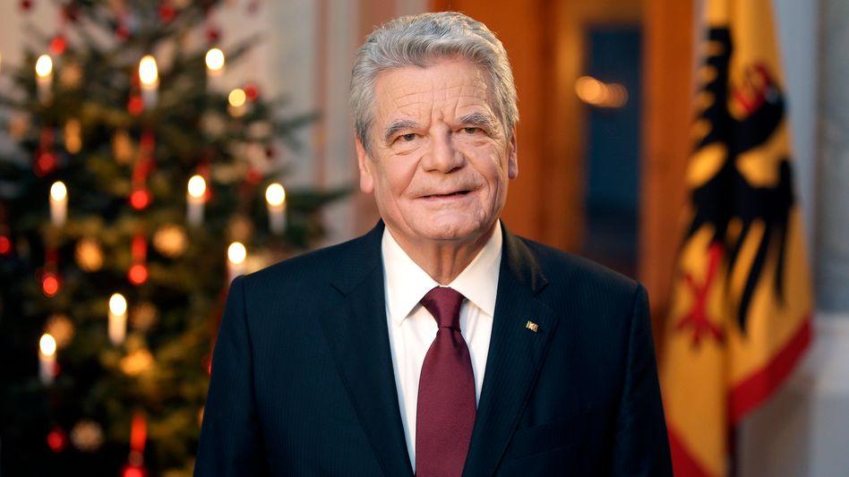 Indirekte Kritik an Pegida: Gauck warnt vor Abschottung Deutschlands