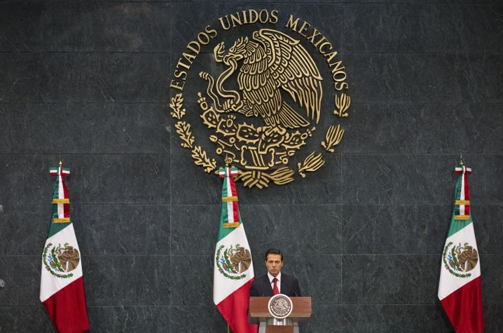 Mexikanischer Präsident Peña Nieto