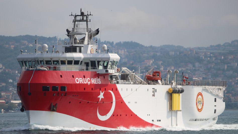 """Türkisches Forschungsschiff """"Oruc Reis"""": Erdoğan bemüht sich, Fakten zu schaffen"""
