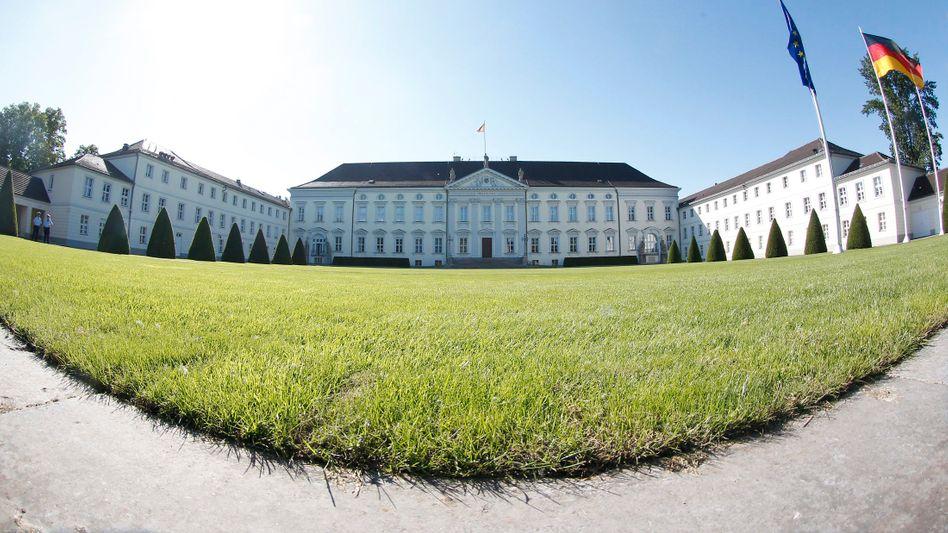 Hier wollen die Kandidaten hinein: Schloss Bellevue in Berlin, Sitz des Bundespräsidenten