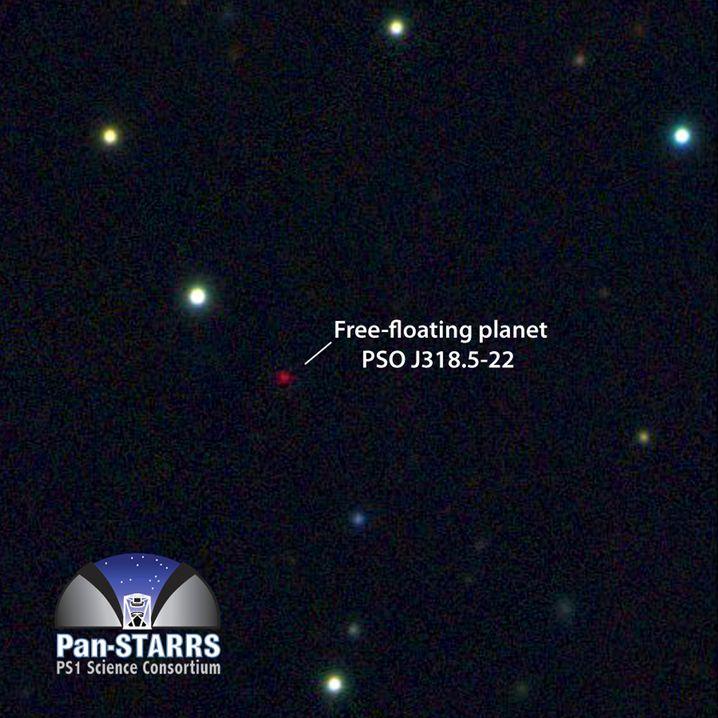 Exoplanet PSO J318.5-22: Rotes Lebenszeichen im kosmischen Nirgendwo