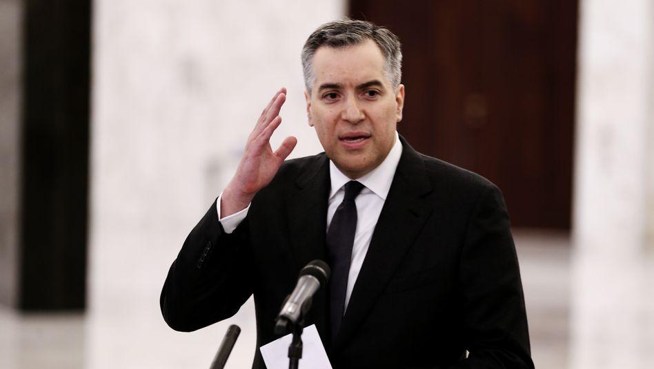 """Der 48-jährige Diplomat Mustafa Adib soll neuer Premier im Libanon werden: """"Zeit der Arbeit"""""""
