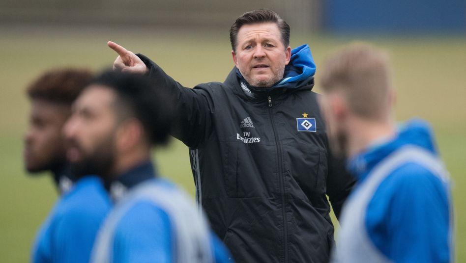 HSV-Trainer Titz