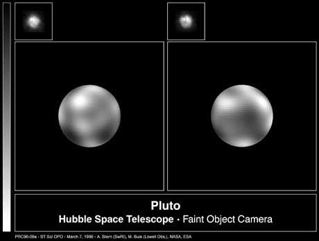 Eisplanet Pluto: Mond dank Unfall
