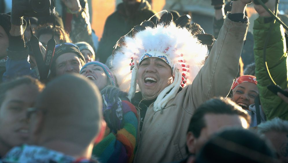 Stopp der Dakota-Pipeline: Große Freude - wenigstens kurz