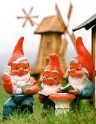 Good garden gnomes.
