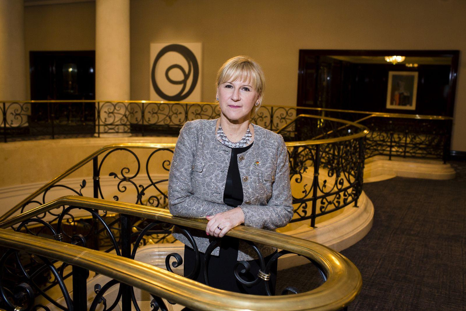 EINMALIGE VERWENDUNG Margot Wallström