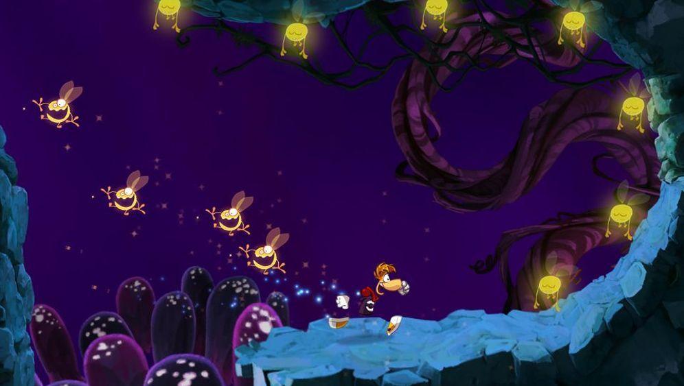 Hüpfen, fliegen, ausweichen: Rayman Jungle Run