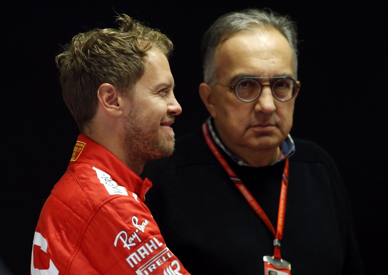 Sebastian Vettel und Sergio Marchionne