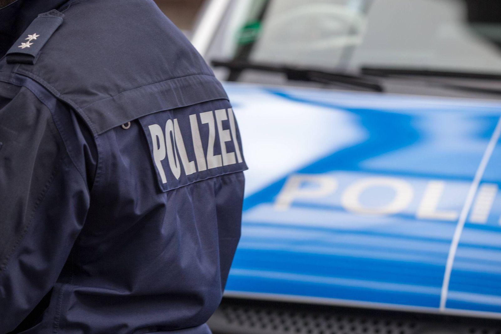 EINMALIGE VERWENDUNG Symbolbild Polizei