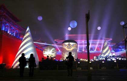 Jarre-Konzert in Peking: Sound-Bombast mit kultureller Message