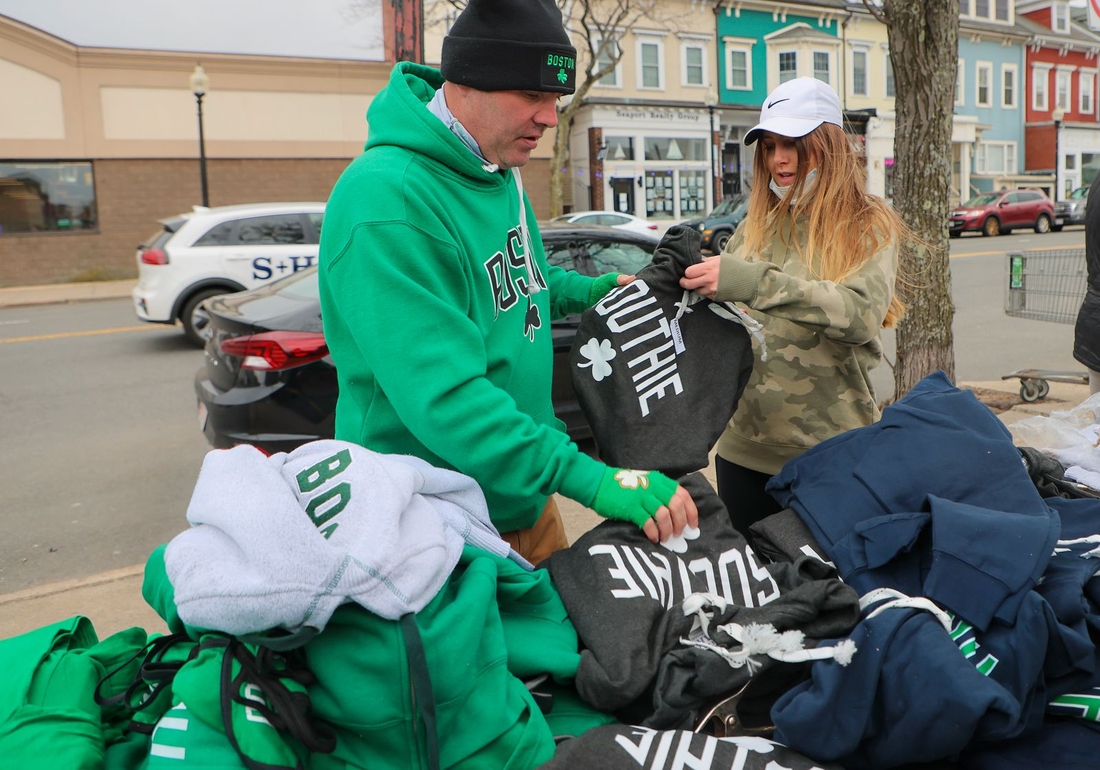 Southie Residents Celebrate During Cancelled St. Patrick's Day Parade