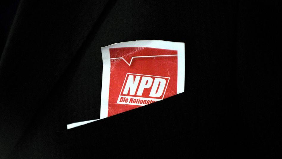 NPD-Stimmkarte (Archivbild): Die Rechten machen Stimmung für die Basis