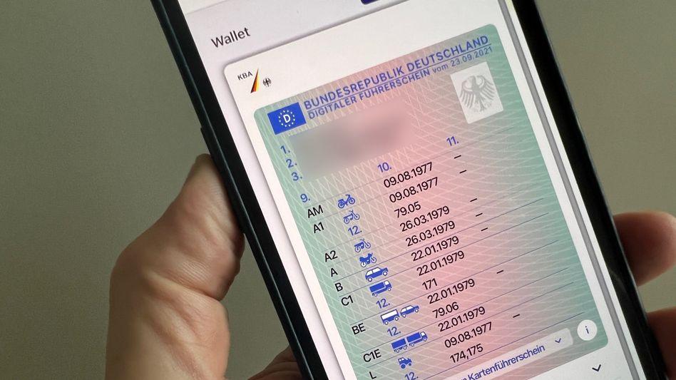 ID Wallet mit der digitalen Variante eines Führerscheins: Kurz nach der Wahl zurückgezogen