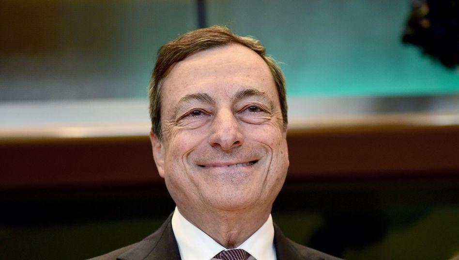 Dürfte zufrieden sein: EZB-Präsident Mario Draghi