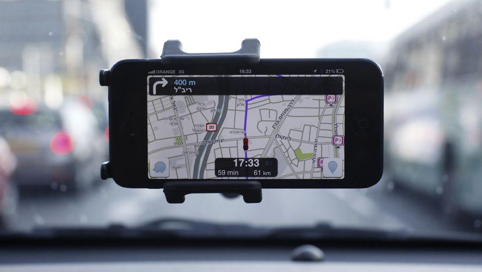 """""""Waze""""-App: Aktuelle Infos über Staus, Baustellen und Unfälle"""