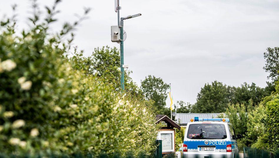 Kleingartensiedlung in Münster: Konnte der mutmaßliche Täter auf die Videoüberwachung zugreifen?