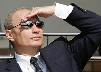 Russian President Vladimir Putin is looking ahead to what he hopes will be a bright future.