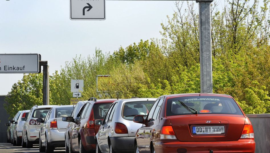 Autos in Dresden: Fahrverhalten protokollieren