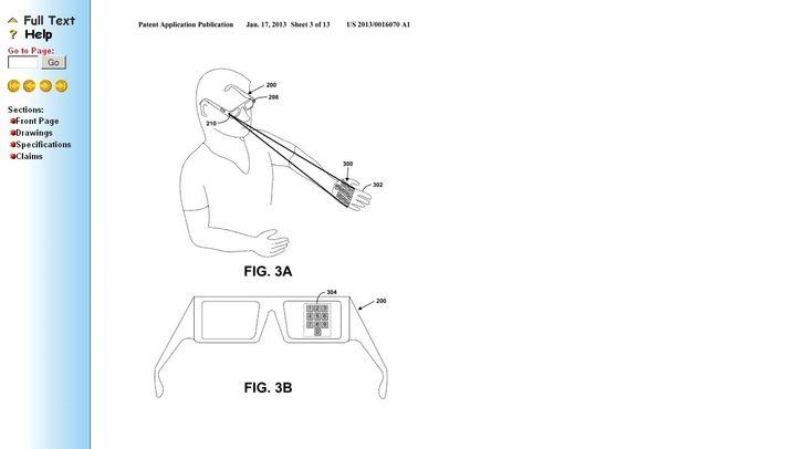 Google-Patent: Fass die Hand an