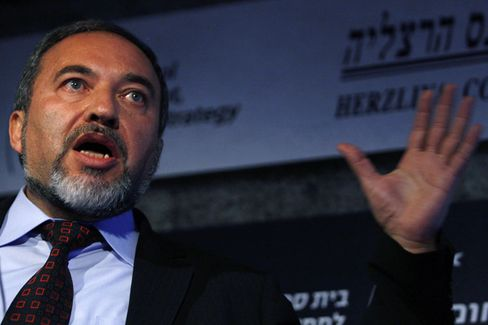 Lieberman the diplomat