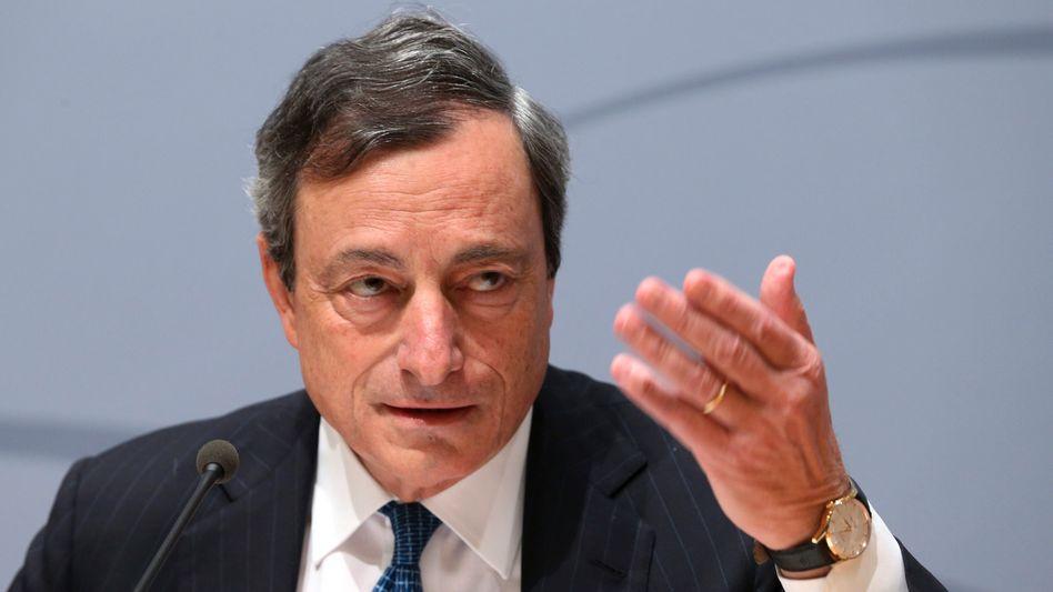 """Mario Draghi (Archivbild): """"Falls nötig handeln"""""""
