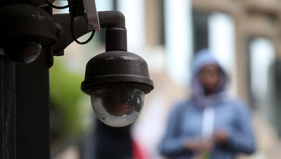 Überwachungskamera in San Francisco - hier wurde automatische Gesichtserkennung bereits verboten
