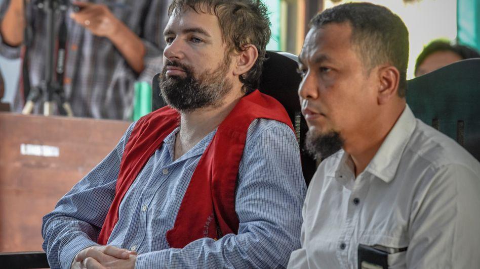Félix Dorfin wurde wegen Drogenschmuggels verurteilt