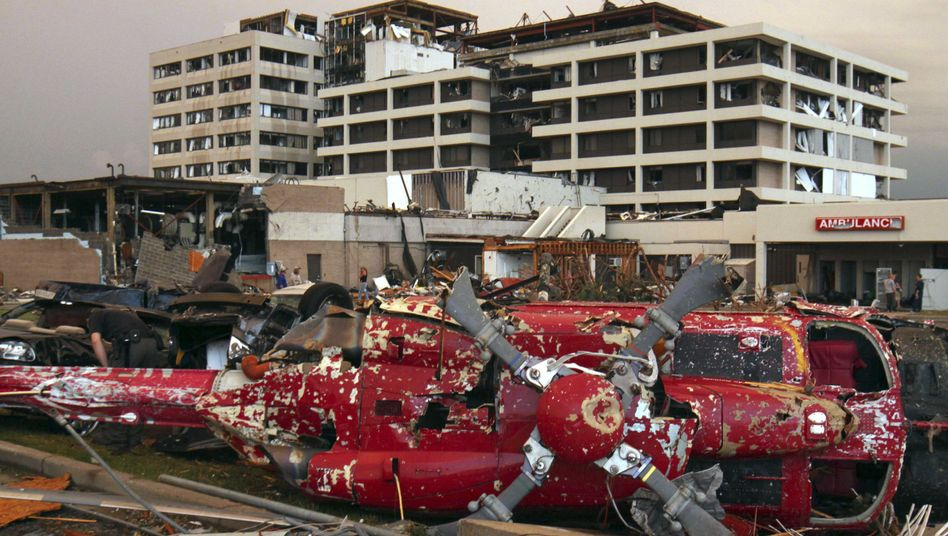 US-Bundesstaat: Tornado trifftKrankenhaus - viele Tote in Missouri