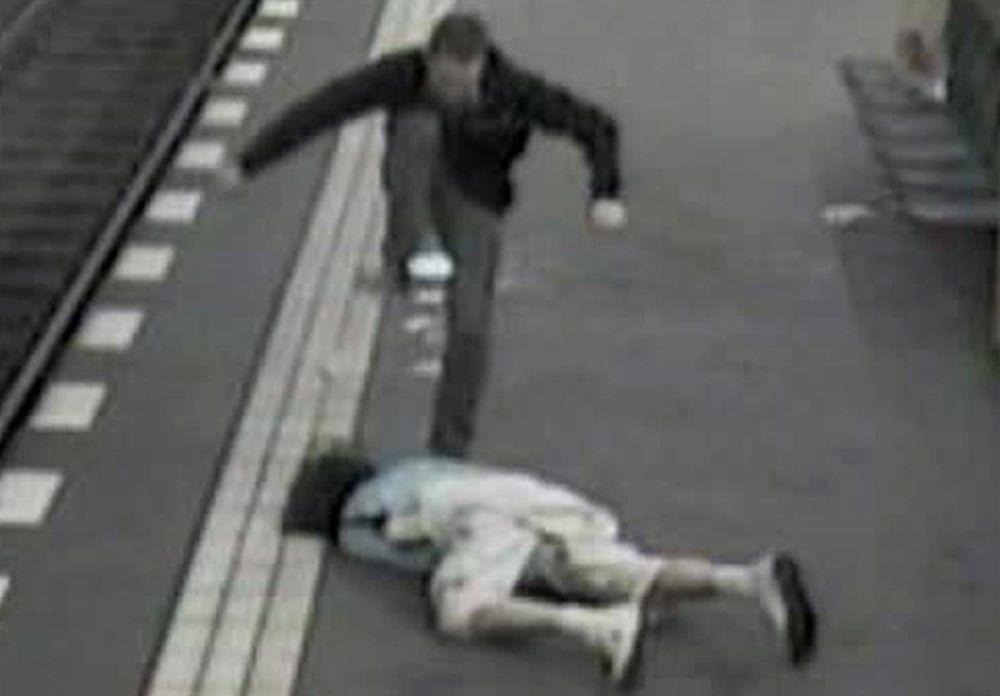NICHT VERWENDEN Berlin Angriff U-Bahn