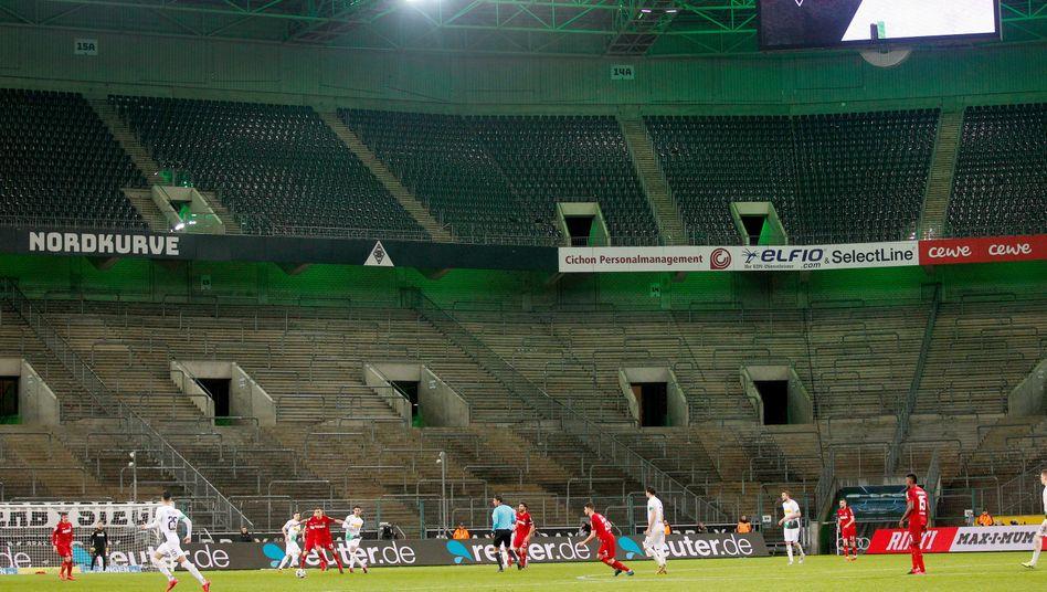 Am 11. März fand das Rhein-Derby zwischen Borussia Mönchengladbach und dem 1. FC Köln bereits vor leeren Rängen statt