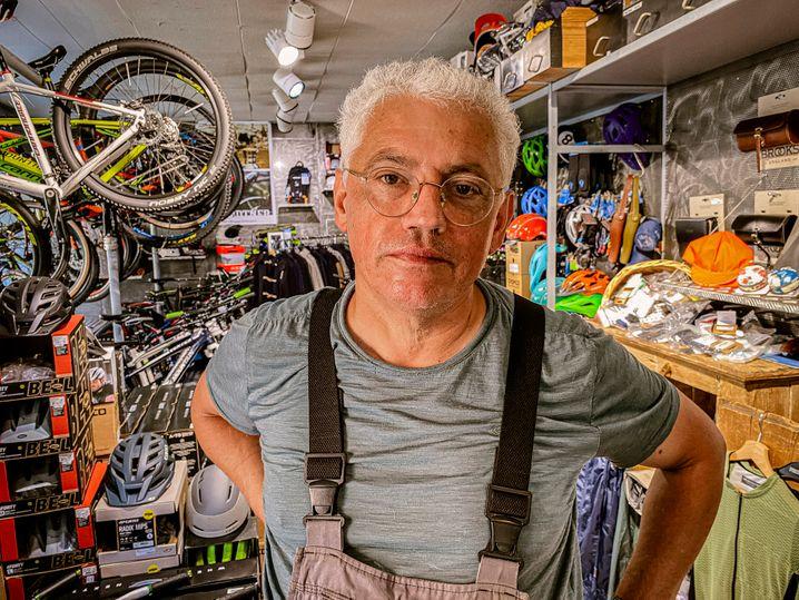 Fahrradhändler Wilfried Grundtner: Als habe jemand Steine in die Waschmaschine gelegt