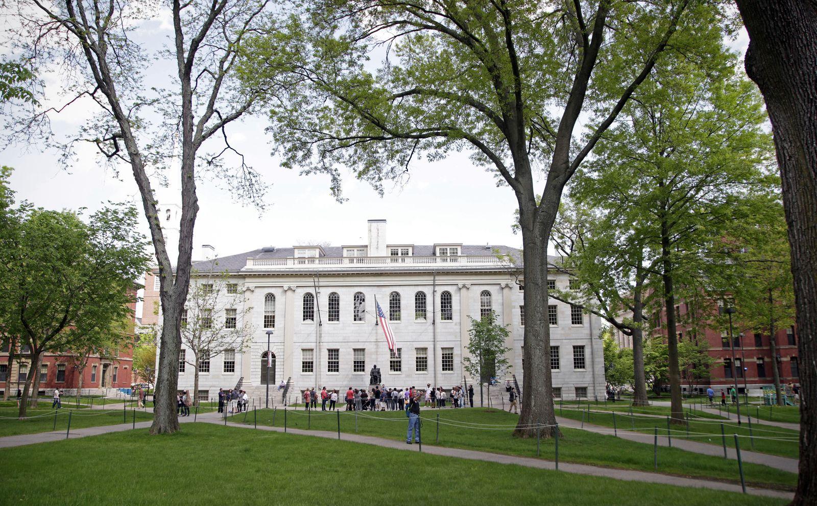 USA BOSTON 20 05 2016 Gel?nde der Harvard University in Boston USA