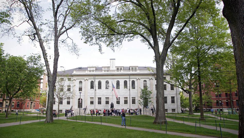 """Gelände der Harvard Universität in Boston: """"Fehlende institutionelle Kontrolle"""""""