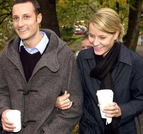 Jetzt ist hoffentlich alles raus über die Vergangenheit: Kronprinz Haakon und Verlobte Mette-Marit