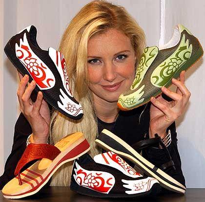 Schuhwerk: Jette Joop und bunte Leisetreter