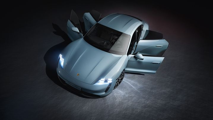 Autogramm Porsche Taycan 4S: Weniger ist mehr