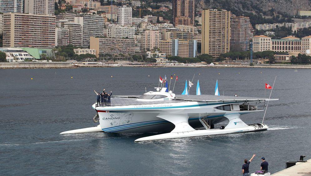 Ende einer Weltreise: Solarboot erreicht Monaco