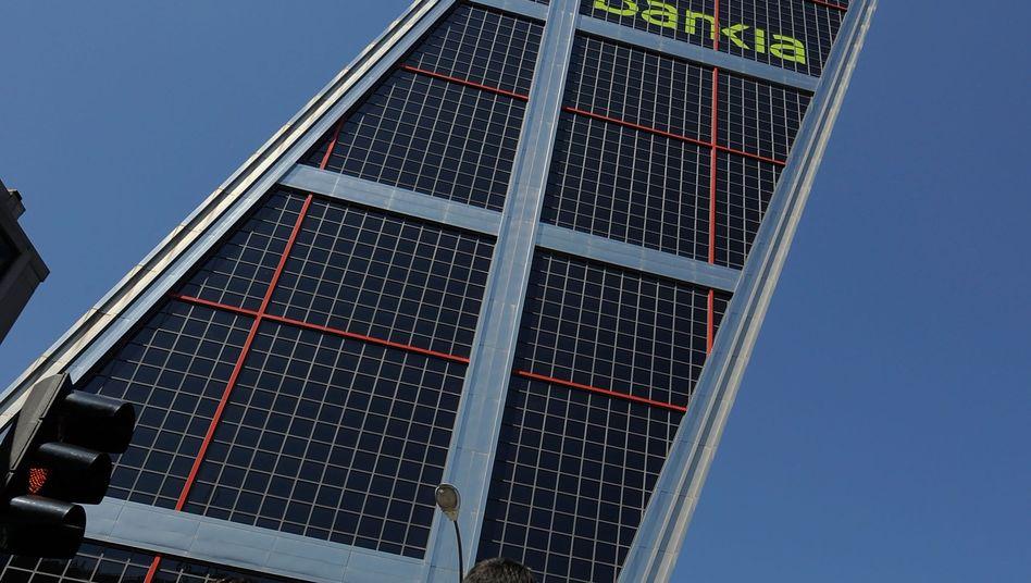 Bankia-Gebäude in Madrid: Politischer Sprengstoff