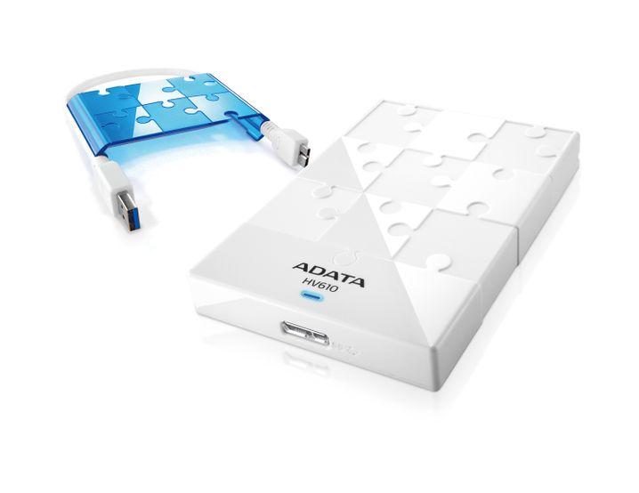 Adata DashDrive HV610: Noch kein Preis, aber schönes Design
