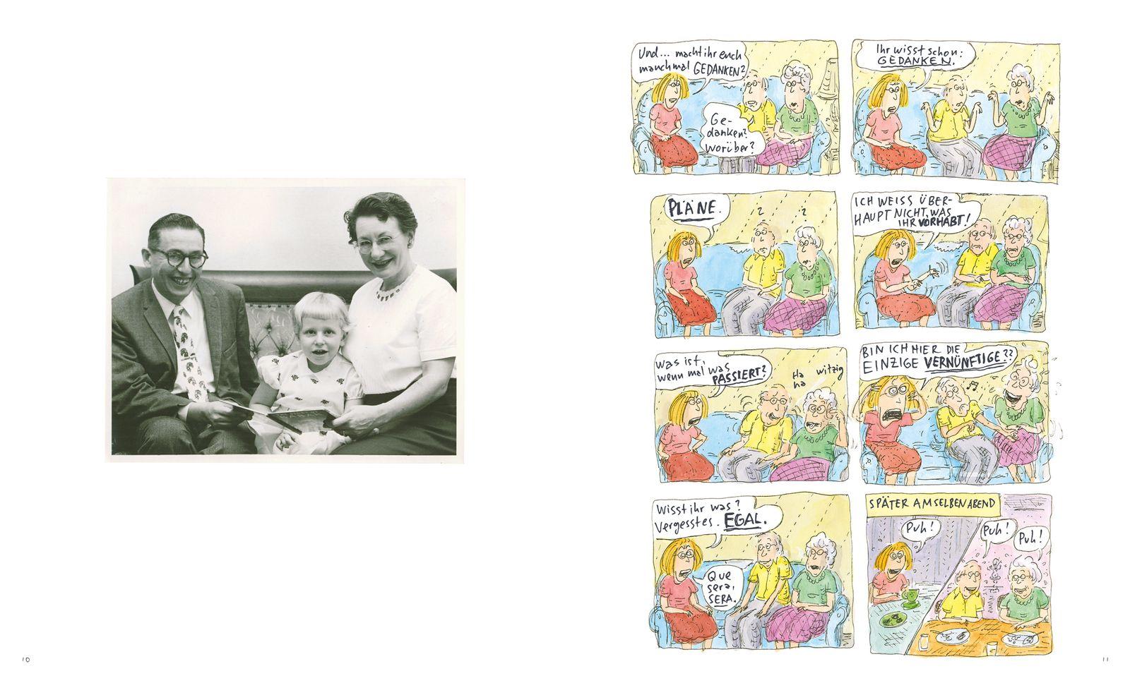 EINMALIGE VERWENDUNG Geschenktipps/ Comics/ Roz Chast: Können wir nicht über was Anderes reden?